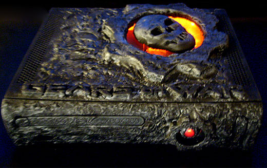 Gears of War Casemod by DFW Monkie