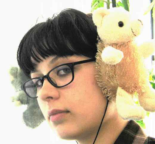 stuffed animal headphones