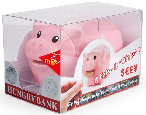 Hungry Piggy Bank