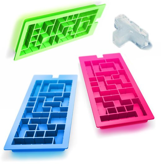 icetris tetris ice cube trays by mystake