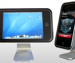Iclooly iPhone Stand Makes Mini iMacs