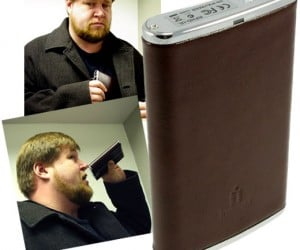 Iomega Hip Flask Storage: Don'T Drink and Hard Drive