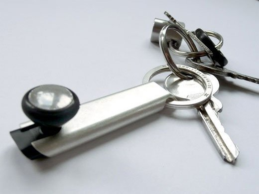 iphone bluetooth metal cover keychain