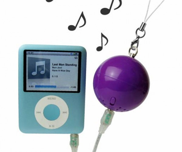 These Speakers Give Your iPod Balls