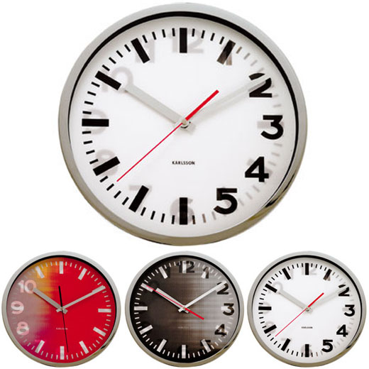 Karlsson Hologram Clock