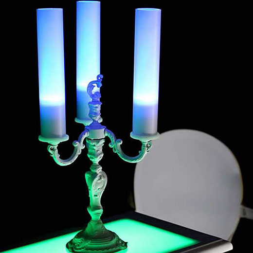 LED Candelabra by Lux et Deco