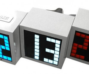 LED Alarm Blocks Deconstruct the Time