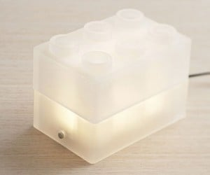LEGO Lamp is Blocky and Bright