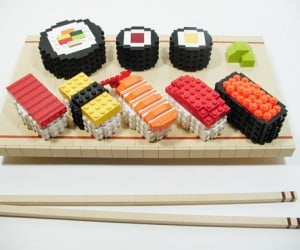 LEGO Sushi Looks Stacky and Scrumptious