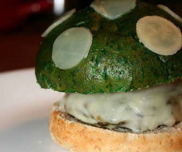 What Mario Eats for Dinner: the 1-Up Mushroom Burger