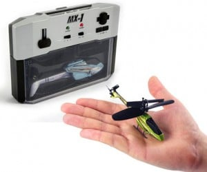 Mx-1: Worlds Smallest R/C Helicopter, Perfect for Fleas