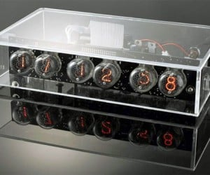 Nixie Tube Clock Offers Retro Modern Time Keeping