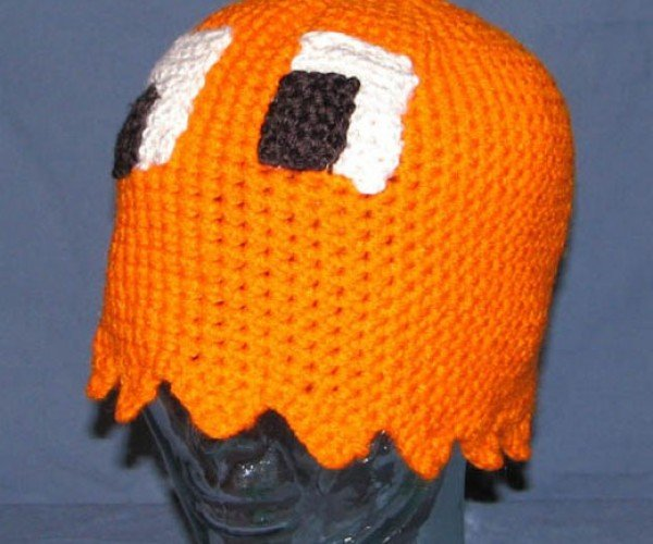 Pac-Man Ghost Hats Gobble Heads, Not Dots