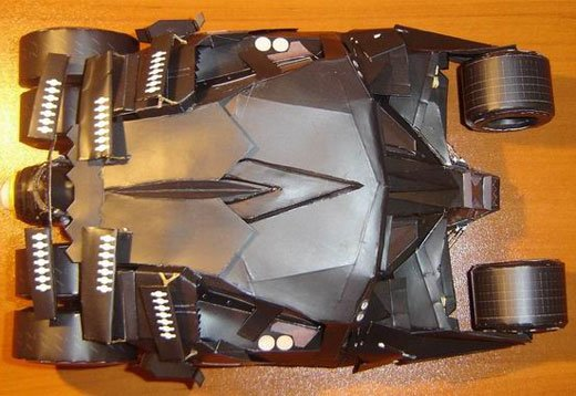 Paper Craft Batman Tumbler