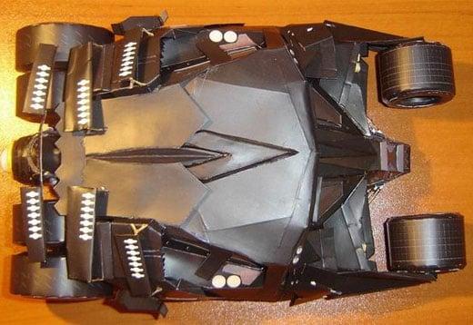 Paper Craft Batman Tumbler