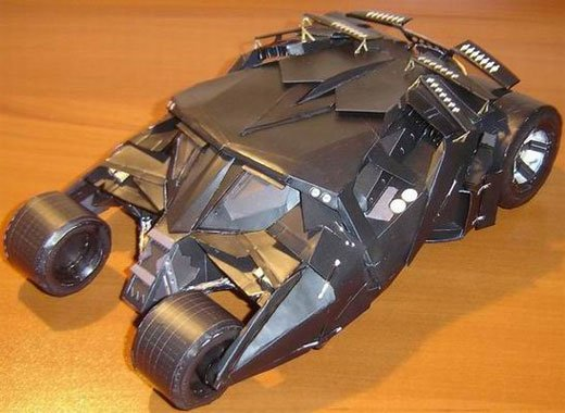 papercraft batman tumbler