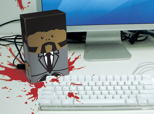 Samuel L Jackson Pulp Fiction Hard Drive