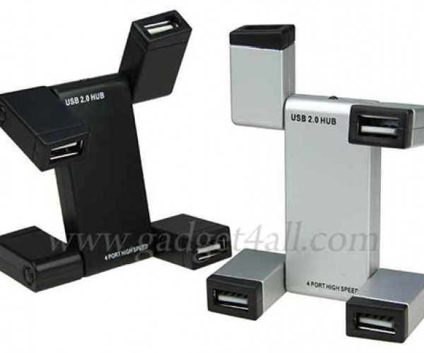 USB Robot 4-Port Hub is More Hub Than Robot