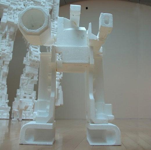Michael Salter\'s Mini Styrobot