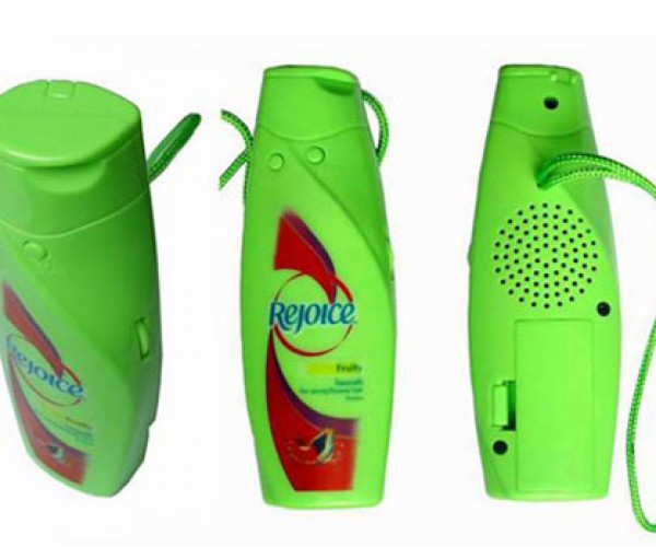 Shower Radio Disguised as a Shampoo Bottle: Why?