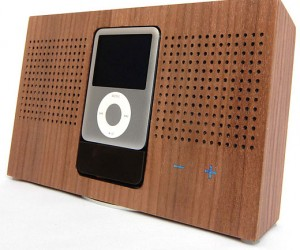 Stack: Wooden iPod Docks for Naturalists (Not Naturists)