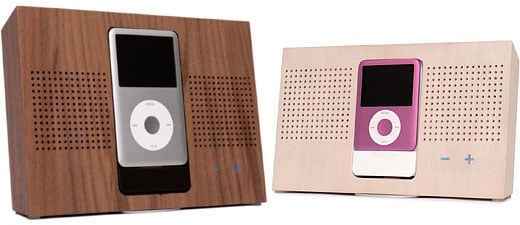 STACK wood iPOD Docks by monoDO