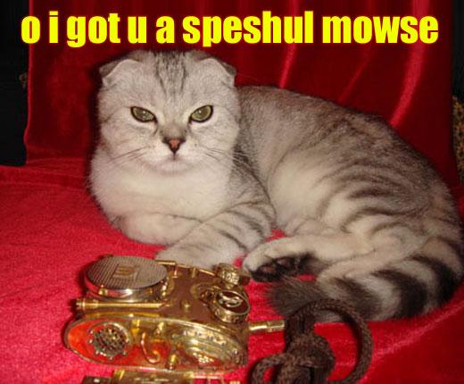 Steampunk Lolcat w Mouse