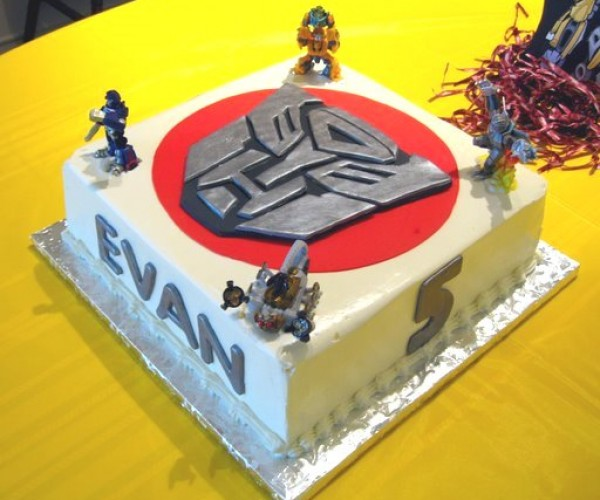 Transformers Cake Makes Me Hungry and Jealous