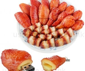USB Chinese Bbq Looks Delicious, but Inedible