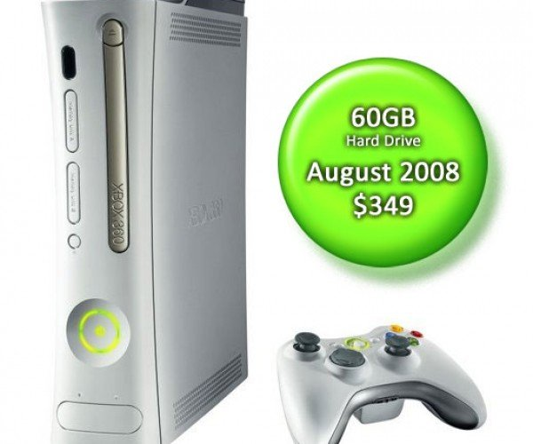 Xbox 360 Pro 60gb Price and Release Date Announced