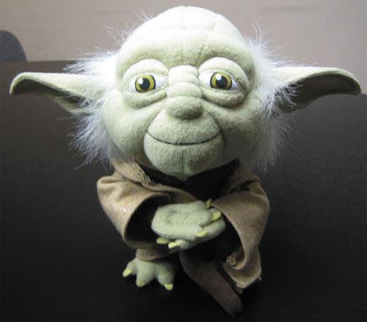 Plush Yoda