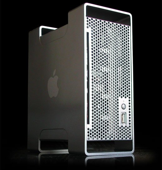 aluminum mac mini