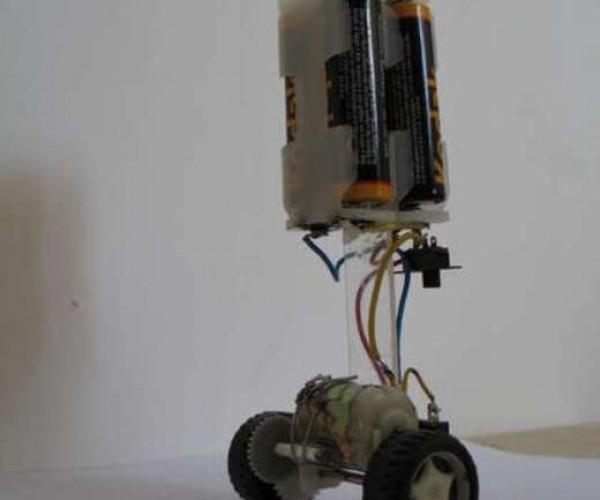DIY Balancing Robot Rocks, Rolls, Then Falls