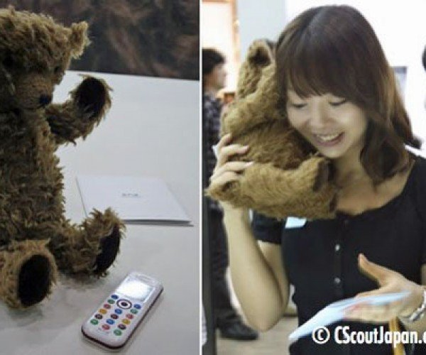 Oh My God, a Bear is Eating That Lady'S Ear!