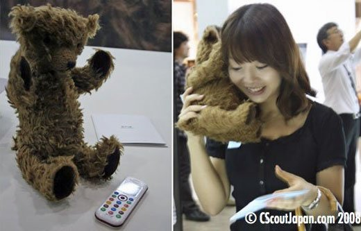 Kuma Bear Phone by Willcom