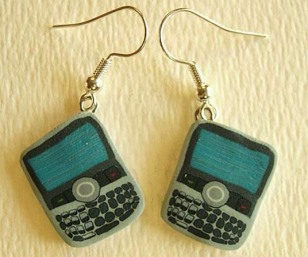 Wear Your Addiction Proudly With Crackberry Earrings