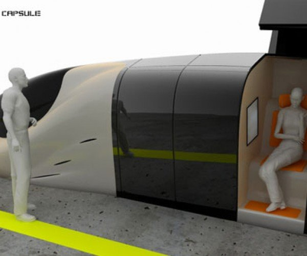 Capsule Train Will Let You Ride in a Mini Fortress of Solitude
