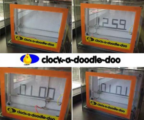 Clock-a-Doodle-Doo: Time Telling Magna Doodle Hack