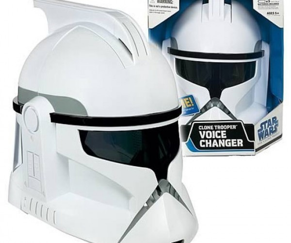 Clone Trooper Voice Changing Helmet: Send in the Clones