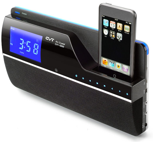 CVT i3101 Media Player Alarm Clock