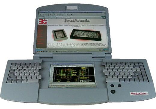 Dual Screen Split Keyboard PC