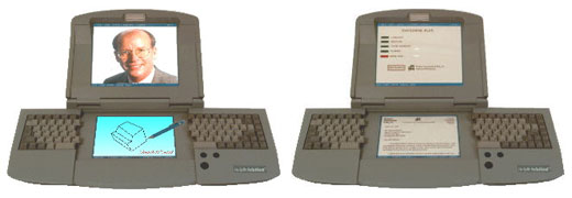 Dual Screen Split Keyboard PC