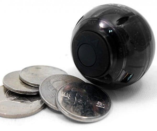 Tiny Dvr Camera is a Ball