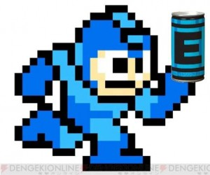 Mega Man Energy Drink Helps You Beat Down Robot Masters
