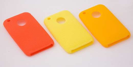iPhone Color Silicone Cases