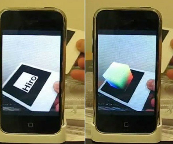 Artoolkit V4.4: Augmented Reality Comes to the iPhone