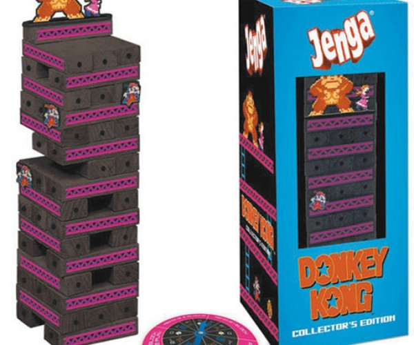 Donkey Kong Jenga is Monkeylicious