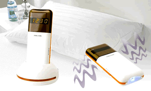 Just place the Karlsson vibrating alarm clock (£29.99/$59 USD) under your