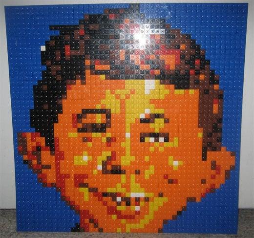 LEGO Alfred E Newman MAD Motion5