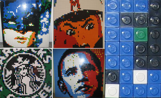 LEGO Art by Motion5